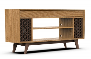 Console made by Furniture Design student