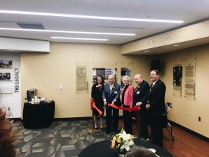 Ribbon Cutting for new Broyhill Commons
